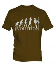 Abseiling Evolution Mens T-Shirt