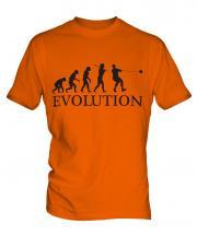 Hammer Throw Evolution Mens T-Shirt