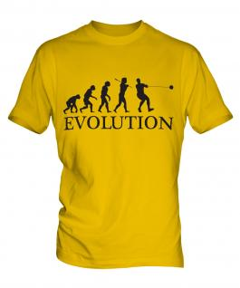 Hammer Throw Evolution Mens T-Shirt