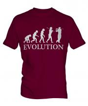 Golf Player Evolution Mens T-Shirt