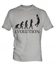 Slam Dunk Basketball Evolution Mens T-Shirt
