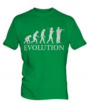 Trumpet Player Evolution Mens T-Shirt
