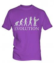 Construction Site Manager Evolution Mens T-Shirt