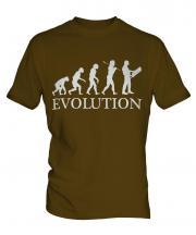 Construction Site Manager Evolution Mens T-Shirt