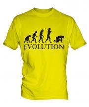Sprint Runner Evolution Mens T-Shirt