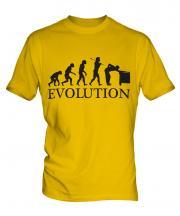 Snooker Player Evolution Mens T-Shirt