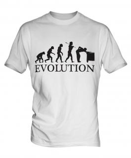 Snooker Player Evolution Mens T-Shirt