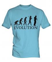 Clarinet Player Evolution Mens T-Shirt