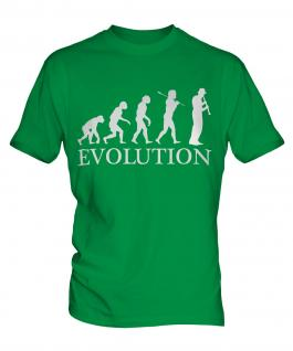 Clarinet Player Evolution Mens T-Shirt