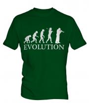 Cornet Player Evolution Mens T-Shirt