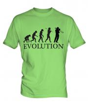 Trombone Player Evolution Mens T-Shirt