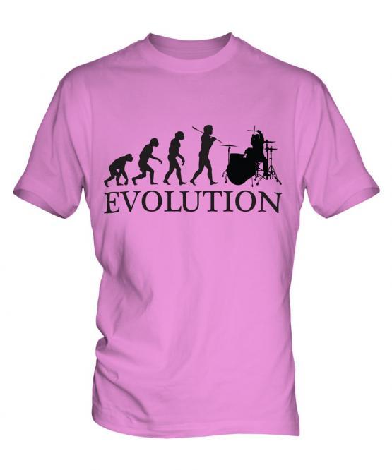 Drummer Evolution Mens T-Shirt