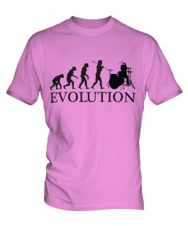 Drummer Evolution Mens T-Shirt