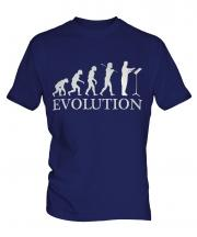 Orchestra Conductor Evolution Mens T-Shirt