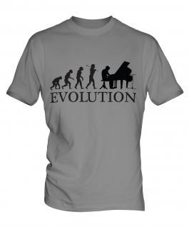 Grand Piano Evolution Mens T-Shirt