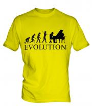 Grand Piano Evolution Mens T-Shirt