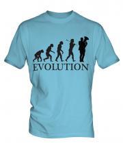 Euphonium Player Evolution Mens T-Shirt