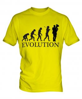 Euphonium Player Evolution Mens T-Shirt