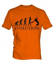 Jazz Trumpet Player Evolution Mens T-Shirt