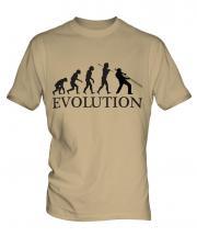 Jazz Trombone Player Evolution Mens T-Shirt