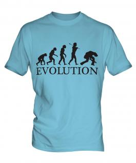 Rock Guitarist Evolution Mens T-Shirt