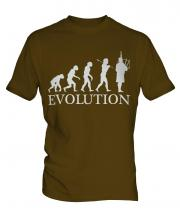 Bagpipes Player Evolution Mens T-Shirt