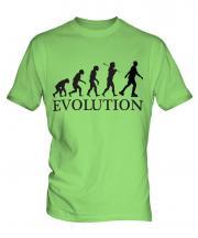 Inline Skater Evolution Mens T-Shirt