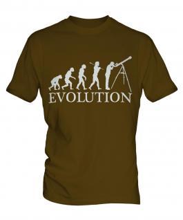 Astronomy Evolution Mens T-Shirt