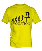 Balance Beam Evolution Mens T-Shirt