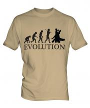 Ballroom Dancing Evolution Mens T-Shirt