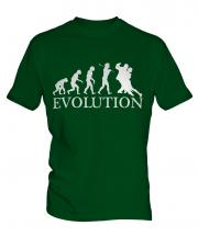 Tango Dancing Evolution Mens T-Shirt