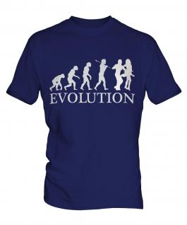 Salsa Dancing Evolution Mens T-Shirt