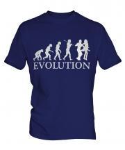 Salsa Dancing Evolution Mens T-Shirt
