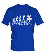 Foxtrot Dancing Evolution Mens T-Shirt
