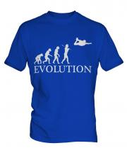 Skydiving Evolution Mens T-Shirt