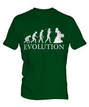 Belly Dancer Evolution Mens T-Shirt