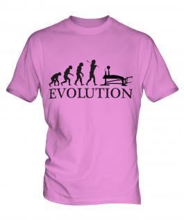 Bench Press Evolution Mens T-Shirt