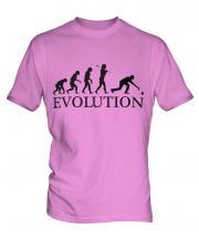 Bowls Evolution Mens T-Shirt