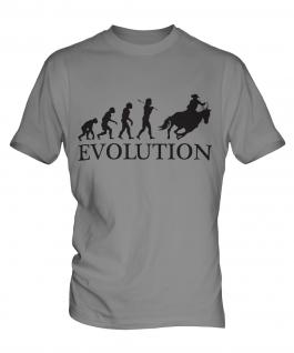 Cowboy Evolution Mens T-Shirt