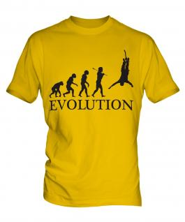 Bungee Jump Evolution Mens T-Shirt