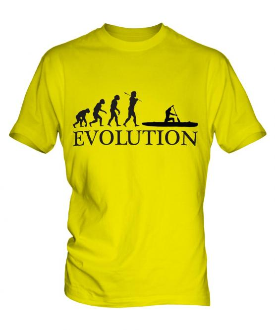 Canoe Evolution Mens T-Shirt