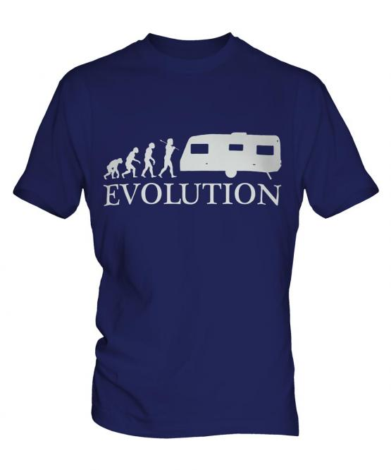 Caravan Evolution Mens T-Shirt
