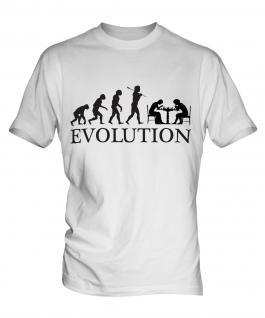 Chess Evolution Mens T-Shirt