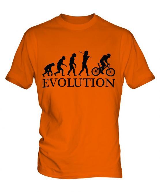 Mountain Bike Evolution Mens T-Shirt