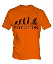Mountain Bike Evolution Mens T-Shirt