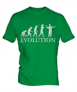 Darts Player Evolution Mens T-Shirt