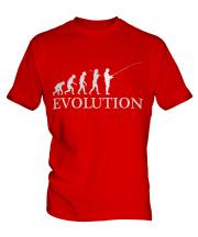 Fishing Evolution Mens T-Shirt