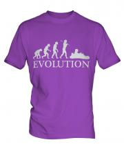 Go Kart Racing Evolution Mens T-Shirt
