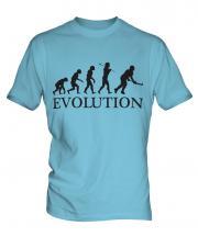 Hockey Evolution Mens T-Shirt
