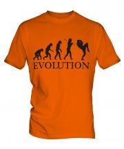 Kickboxing Evolution Mens T-Shirt